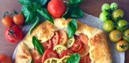 Cheesy Tomato Galette