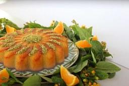 Orange Basbousa (Nammoura)