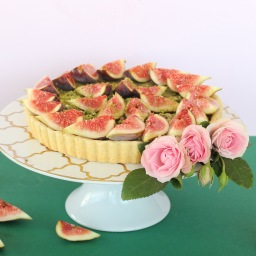 Fig and Pistachio Tart