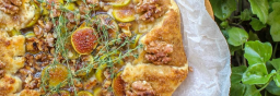 Fig & Cheese Galette